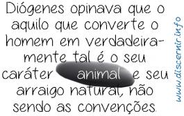 Você é um animal racional?