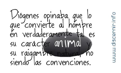 Eres Un Animal Racional